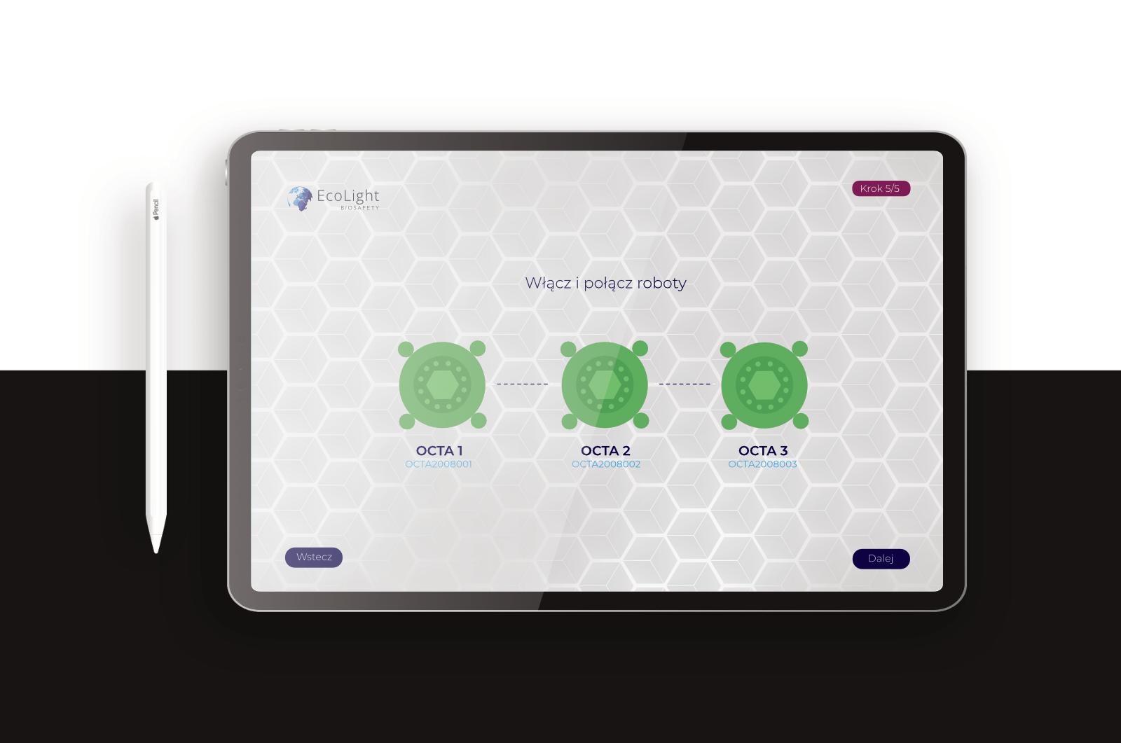 Aplikacja - OCTA UV-SYSTEM